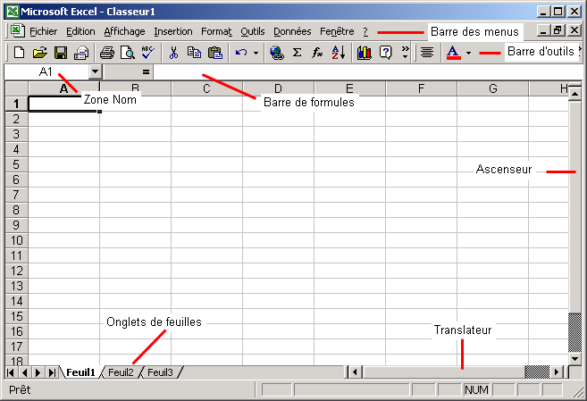 Introduction à Excel