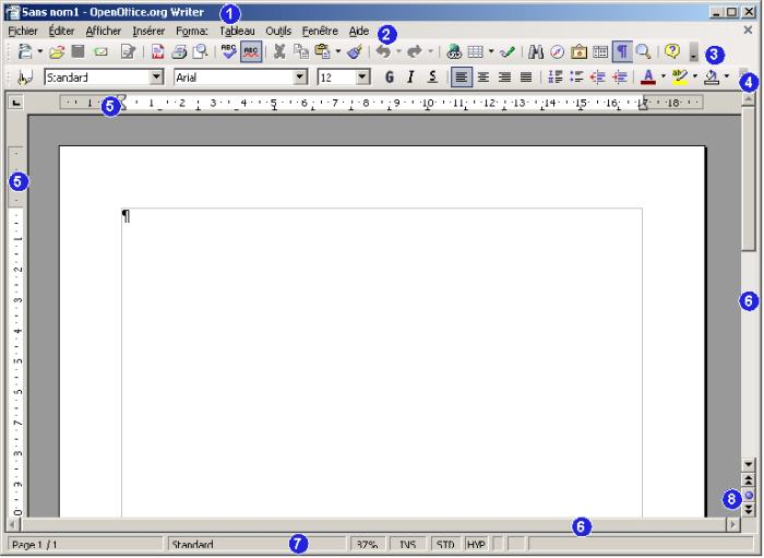 Introduction au traitement de textes avec openoffice - Telecharger traitement de texte open office ...